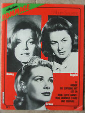 Collection hommage n°1 (1982) Romy Schneider- Grace Kelly- Ingrid Bergman