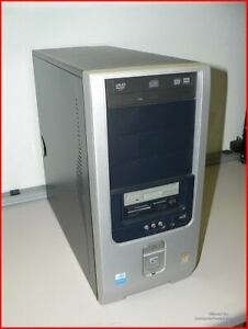 HP Pentium D System - PS/2, LPT1 Printer, Floppy, SD, USB, Firewire, DVI, HDMI,