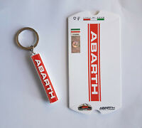 Llavero ABARTH Oficial Idea Regalo Fiat 500 Grande Punto