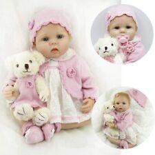 Muñecas Reborn Baby Dolls 22 Pulgadas 55cm Bebe Reborn niña Suave Vinilo