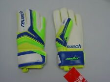Reusch Soccer Goalie Gloves Serathor Finger Support Stays JR SZ 5 3772810S LIME