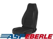 Komfortsitz vorne Schwarz Sitz Seat Black Jeep CJ 76-86 Wrangler YJ TJ 87-06