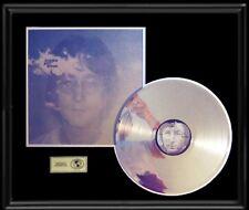 JOHN LENNON BEATLES IMAGINE GOLD RECORD PLATINUM  DISC LP ALBUM RARE AUTHENTIC