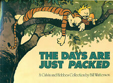 CALVIN & HOBBES The Days are Just Packed Bill Watterson  1993 AMP SC collection