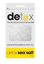 LAXATIVE DETOX SEA SALT 100G RESEALABLE PACK BULK BUY 10 PACKS (1KG)