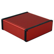Hammond 1455T1601RD Extruded Aluminium Enclosure 160 x 165 x 51.5mm Red