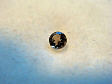 Smoky Quartz Round cut Gemstone 2 mm 0.04 carats Natural Gem