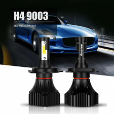 2X CREE COB H4 HB2 9003 640W 76800LM LED Headlight Kit Hi/Lo Power Bulbs 6000K