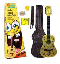SPONGEBOB SQUAREPANTS 1/4 size Junior Nylon String Guitar Pack with Accessories