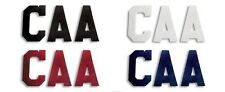 """New A&R Hockey Jersey Sweater Captains Letters 1 C, 2 A's; 4"""" Heat Sew On Navy"""