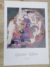 Gustav Klimt Die Jungfrau Large Art Print - 39.5 x 27.5ins