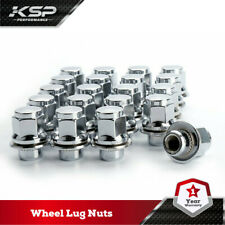 20PC 12x1.5 Thread Pitch Hex 13/16'' (21mm) Chrome Mag LugNuts For Lexus Scion