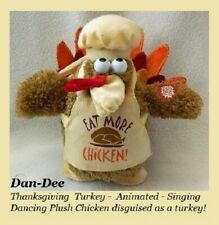 Dandee Thanksgiving Holiday Turkey Animated Musical / Sing & Chicken Dance