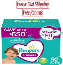 Pampers Cruisers Diapers size 7 - 92 ct. (41+ lb.)