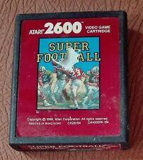 41734 Atari 2600 - Super Football - cx26154 - Retrogaming - 1988
