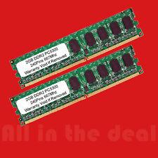 4GB Kit 2 x 2GB DDR2 LOW DENSITY PC2-5300 667 mhz 240 pin Desktop memory