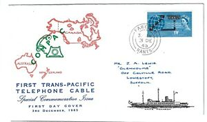 First Trans-Pacific Telephone Cable 1963 FDC First Day Cover