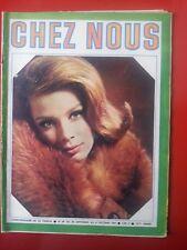 1965 revue CHEZ NOUS n°39 GINA LOLLOBRIGIDA