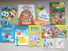 BOARD BOOK LOT 11~Touch Feel~Sparkle~Pop-Up~Brush Teeth~Junior Laura~Garfield~