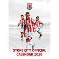 Official Manchester City 2020 Football Calendar /& Socks Gift Set