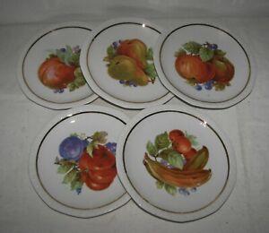 5 Obstteller    Porzellanteller