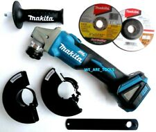 "Makita XAG09 18V Cordless Brushless Battery Grinder 4 1/2"" - 5"" W/ Brake 18 Volt"