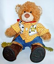 """Build A Bear Cowboy Woody Sheriff Badge Toy Story Gun Holster spurs Rodeo 17"""""""