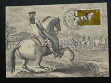 horse dressage equestrianism maximum card Switzerland 1982