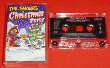 THE SMURFS - UK CASSETTE TAPE - CHRISTMAS PARTY