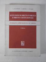 F344 ISTITUZIONI DIRITTO PUBBLICO COSTITUZIONALE PROVE VERIFICA GIAPPICHELLI 96