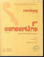 Romberg - 1. Concertino op. 28 für Violoncello und Piano