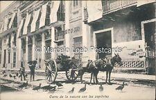 MEXICO CARRO DE LA BASURA CON LOS SAPITOTES ED. FRANQUESA Y ACHUTEGUI 14533