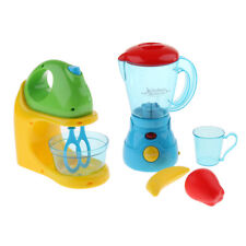 MagiDeal Electric Home Appliances Kitchen Pretend Play Toy Blender & Juicer