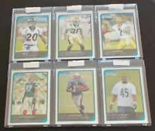2006 BOWMAN CHROME FOOTBALL UNCIRCULATED ROOKIE CARDS ALL MINT #/519 SIX CARDS