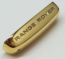 24ct GOLD PLATED GENUINE RANGE ROVER EVOQUE SPORT KEY FOB END CAP TRIM LR050787