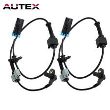 2 ALS1463 ABS Wheel Speed Sensor Front For Chevrolet Silverado 2500 3500HD 07-09