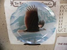 The Bald Eagle Knowles Bradford Exchange Collector Plate