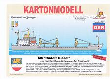 MDK-Verlag 7019 - Kartonmodell - MS Rudolf Diesel - Typ Poseidon 271 - 1:250