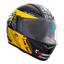 AGV K3 Guy Martin Yellow Motorcycle Helmet 21509360 L