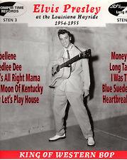 "ELVIS PRESLEY  25CM  STOMPER TIME  "" AT THE LOUISIANA HAYRIDE 1954-55 ""   [UK]"