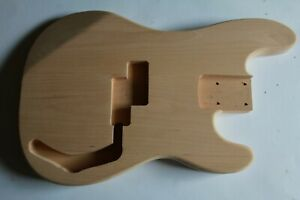 P Bass Precision style Body Korpus red alder Roterle Erle replacement Gitarre