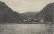ST HELENA :   Jamestown from Sea-b/white-JACKSON