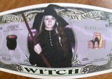 Halloween witch FREE SHIPPING! Million-dollar novelty bill