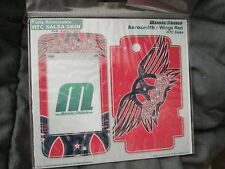 MUSICSKINS HTC SALSA SKIN DECAL STICKERS COVER AEROSMITH - WINGS RED BNIP