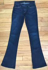Ladies 7 FOR ALL MANKIND Jeans 25 (26x34) KAYLIE Slim Boot Stretch Dark Wash USA