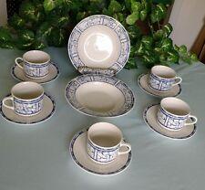 12 pieces Oneida Breton Blue china no chips