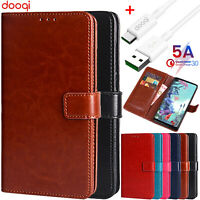 For LG Q70/G 8 7 6/V50 S ThinQ Shockproof PU Leather Wallet Card Flip Stand Case