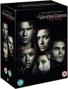 The VAMPIRE DIARIES COMPLETE SERIES SEASON 1-8 DVD 43 DISC Region 4 NEW!