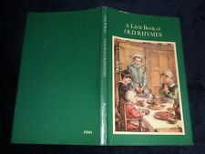 A Little Book of OLD RHYMES  - Cicely Mary Barker | HB / DJ, 1976
