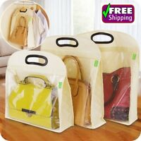 Handbag Cover Anti Dust Protector Bag Handbags Storage Bag Blending Pastoral Bag